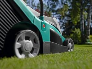 Bosch Rotak 43 LI Akku-Rasenmäher Räder