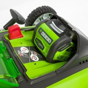 Greenworks Tools 40V Akku-Rasenmäher Akku+Schlüssel