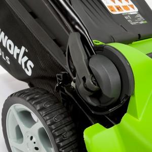 Greenworks Tools 40V Akku-Rasenmäher Schnellverschlüsse