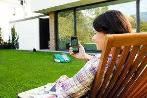 bosch diy m hroboter indego 1200 connect im test akkurasenm her. Black Bedroom Furniture Sets. Home Design Ideas