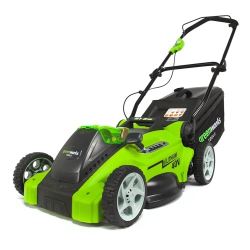 Greenworks Tools 40V Akku-Rasenmäher bei Akkurasenmaeher-Vergelich.de