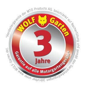 Wolf Garten Garantie