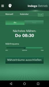 Bosch Indego 1000 Connect bei Akkurasenmäher Vergleich