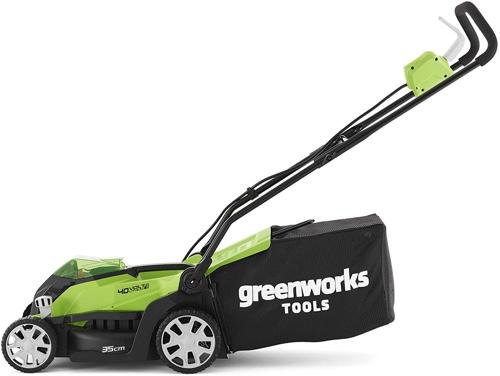 Der Greenworks G40LM35K2 Test bei Akkurasenmaeher-Vergleich.de